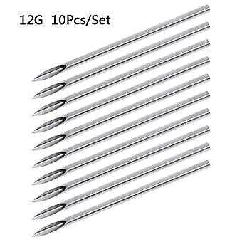 Piercing Needles For Navel , Nipple ,ear, Nose ,lip - Tattoo Piercing Needles