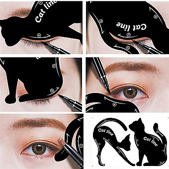 Eyeliner Stencils - Template Shaper Eyebrow