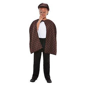 Childrens Detective Fancy Dress Kit