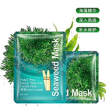 Seaweed Facial Mask Angel Aqua Expert Hydrated Face Mask, Moisturizing
