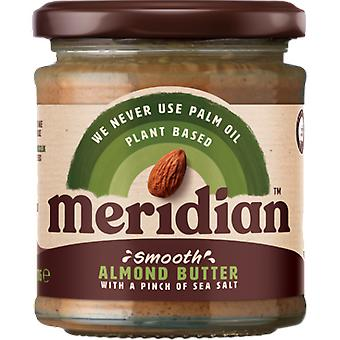 Meridian Foods Smooth Almond Butter with Salt 6x170 gr