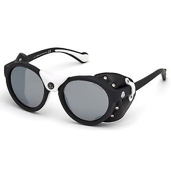 Moncler ML 0046 02C Matte Black/Smoke Mirror Sunglasses