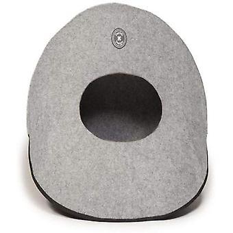 Dänisches Design Katze Kiesel grau