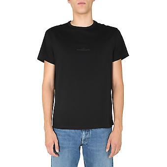 Maison Margiela S30gc0722s22816900 Men's Black Cotton T-shirt