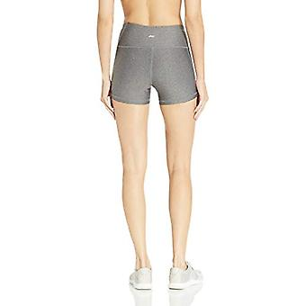 Essentials Women's Performance Active Short, Charcoal Heather, XX-Large
