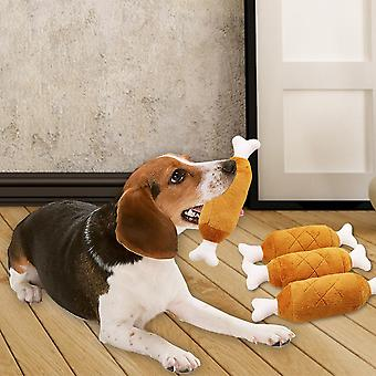 Pet Chew Molar- Interactive Simulation Of Chicken Drumstick With Double Bone