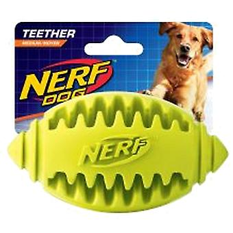 Nerf Teether American Football Dog Toy