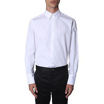 Givenchy Bm60fb109f100 Men's White Cotton Shirt