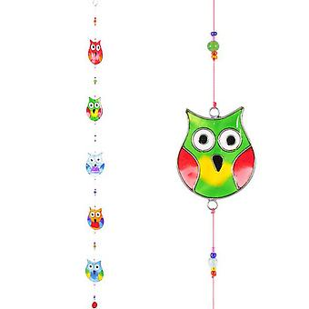 Something Different String Of Owls Sun Catcher