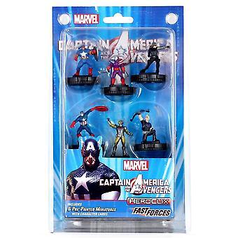 Marvel HeroClix Captain America en The Avengers Fast Forces