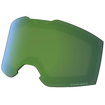オークリーフォールラインXL交換レンズ - プリズムジェイドイリジウム