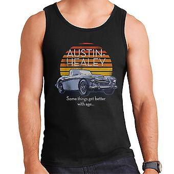 Austin Healey Some Things Get Better With Age British Motor Heritage Men's Vest