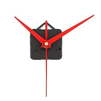 5kpl diy punainen kolmio kädet kvartsi seinäkellon liikemekanismi
