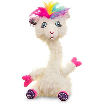 sassimals ali the alpaca soft toy with songs and sounds for ages 3+