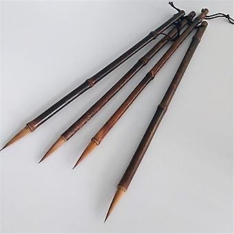 فرشاة كتابة شعر ابن عرس، ممارسة الكتابة اليدوية
