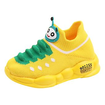 Girls Sport Stretch Mesh Shoes, Cartoon Infant Kids Baby Running Sneakers