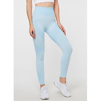 Jerf Womens Bonita Blue Seamless Active Leggings