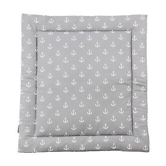 Puckdaddy wrappad Greta 65x75 cm med ankarmönster i grått
