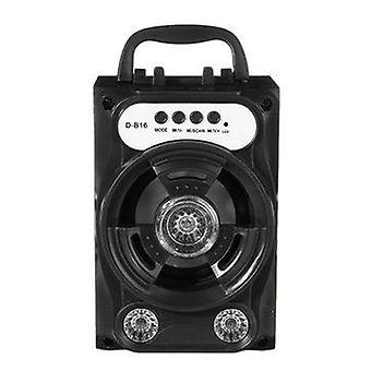 Mini Wireless bluetooth Speaker Stereo Portable Outdoor Speaker LED Support FM