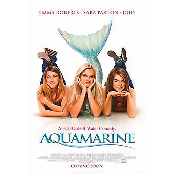 Aquamarin Movie Poster (11 x 17)