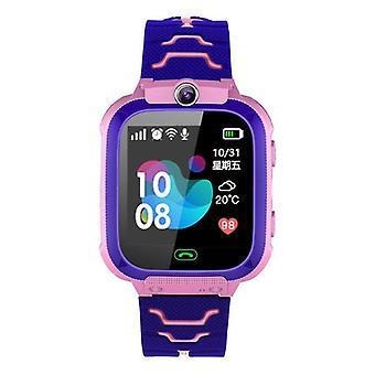 Ceas inteligent pentru copii cu cameră, ecran tactil, apel sos și tracker de locație