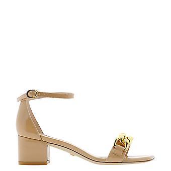Stuart Weitzman Amelina50ptajm Women's Pink Patent Leather Sandals