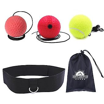 Punching Speed Reaction Agility Training Difficulty Level Boxing Balls With