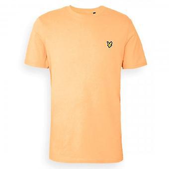 Lyle & Scott Plain Crew Neck T-Shirt Melon TS400VOG