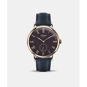 VOTUM - Reloj de señora - VINTAGE SMALL - VINTAGE - V11.20.11.02 - correa de cuero - azul
