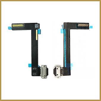 Til iPad Air 2 Udskiftning Opladning Port Dock Connector Flex Kabel Sort