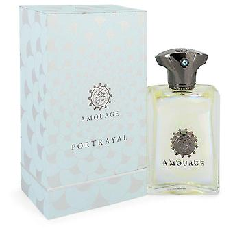 Amouage تصوير Eau De Parfum Spray بواسطة Amouage 3.4 أوقية Eau De Parfum Spray