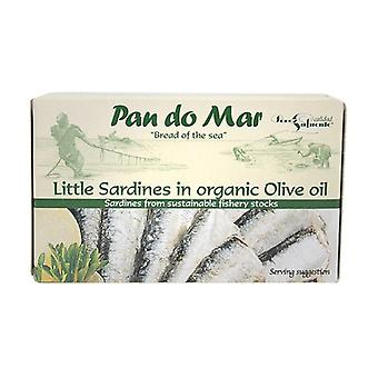 Sardines in Organic Virgin Olive Oil 125 g