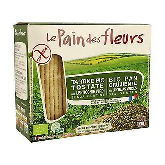 Organic Green Lentil Flower Bread 150 g