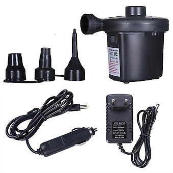 Electric Inflatable Pump, Quick Air Filling Compressor With 3 Nozzles
