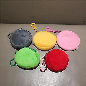 Смешайте цвета Сладкий плюшевый кошелек игрушка, Keychain мешок