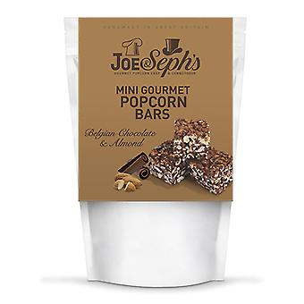 Belgian Chocolate & Almond Mini Popcorn Bars