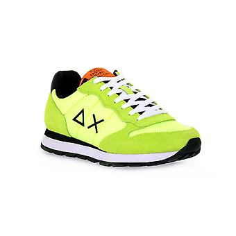 Sun68 63 tom solid nylon yellow sneakers fashion