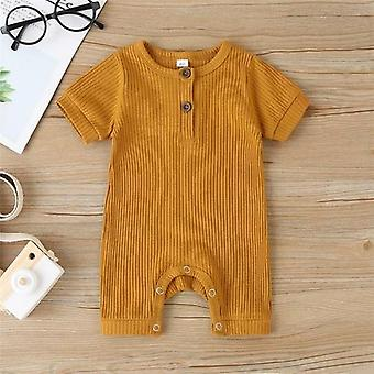 0-18m Baby Summer Clothing Baby Infant Short Sleeve Romper