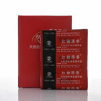 Sleeve 50pcs Condoms Ultra Thin Natural Latex Best Quality Contraception Method