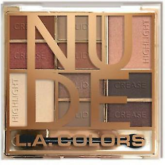 L.A. Colors Paletas Color Block Eyeshadow Nude