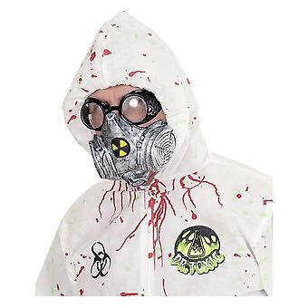 Masque à gaz toxique adulte Halloween