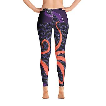 Octopus Leggings, Capris And Shorts