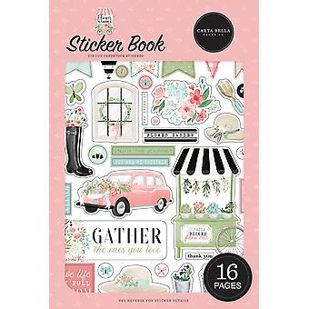 Carta Bella Flower Garden Sticker Book