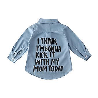 Print Long Sleeve Tops Shirt