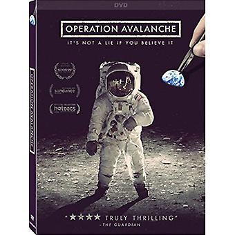 Operaatio Avalanche [DVD] USA tuonti