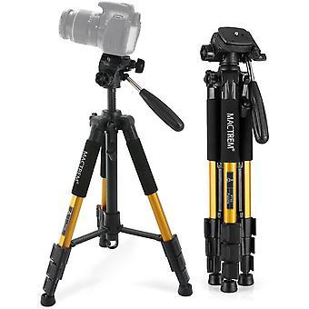 HanFei Stativ Kamera, Kamerastativ Smartphone Handy Stativ 145cm Dreibeinstativ Reisestativ