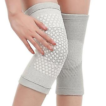 2 Pcs tourmaline self heating knee pads warm for arthritis joint pain reliefs knee protection tools dsg99
