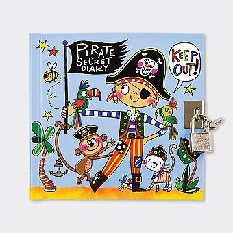 Rachel Ellen Pirate Secret Diary With lock and Key