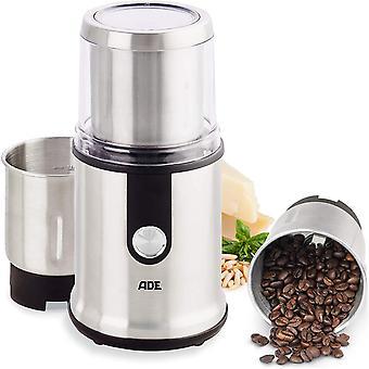 KA1805 elektrische Kaffeemhle Multifunktions-Mhle Gewrzmhle (Zerkleinerer, 2 Mahlbehlter,