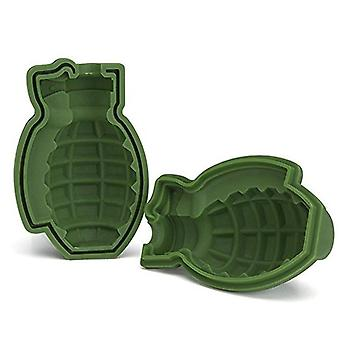 3d Grenade Ice Ball Molds Ice Cube Trays